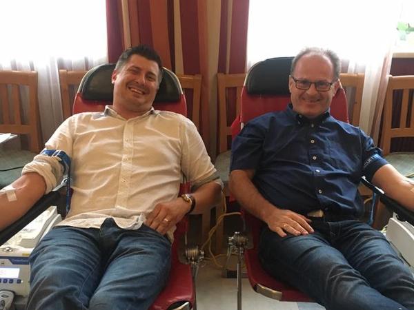 Grundsätzlich Gruber beim Blut spenden