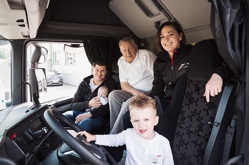 Astrid Gruber & Familie